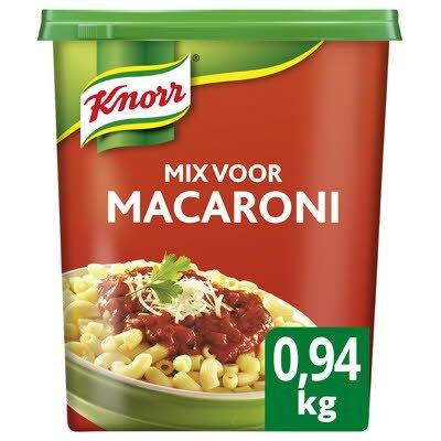 Knorr 1-2-3 Mix voor Macaroni 0,94kg -