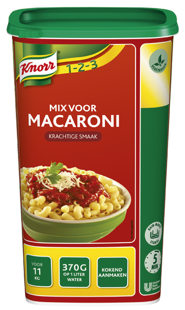 Knorr 1-2-3 Mix voor Macaroni -