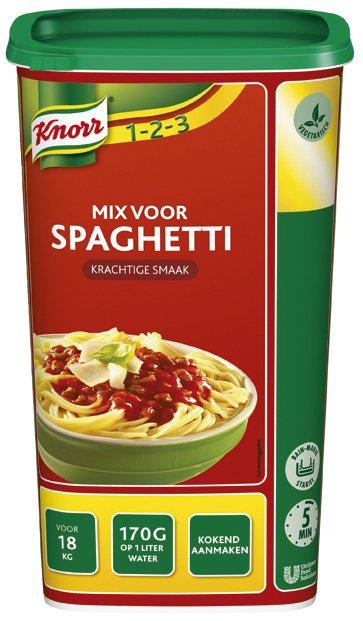 Knorr 1-2-3 Mix voor Spaghetti