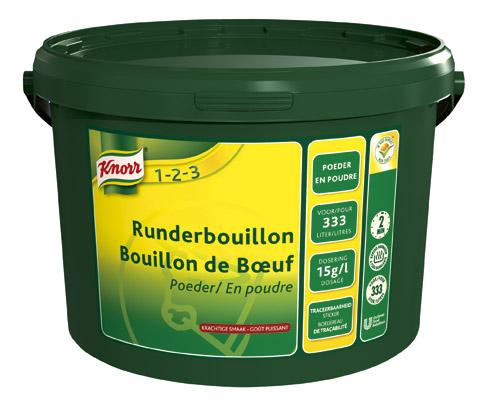 Knorr 1-2-3 Runderbouillon -