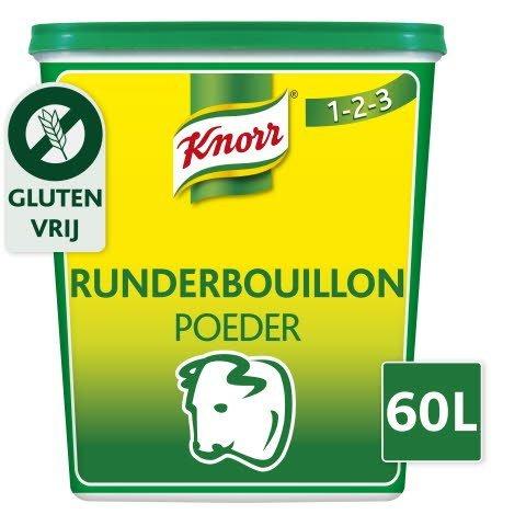 Knorr 1-2-3 Runderbouillon krachtige smaak Poeder 60L