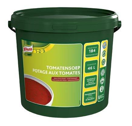 Knorr 1-2-3 Tomatensoep in grootverpakking