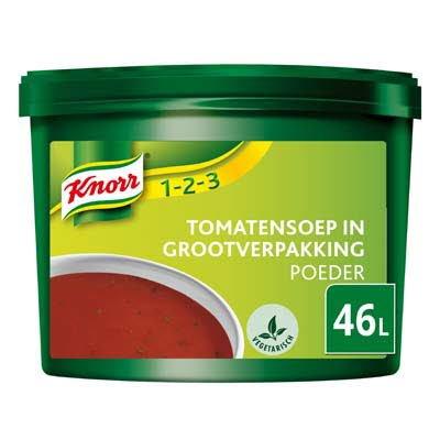 Knorr 1-2-3 Tomatensoep in grootverpakking Poeder 46L