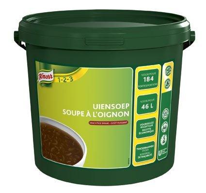 Knorr 1-2-3 Uiensoep in grootverpakking Poeder 46L