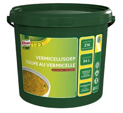 Knorr 1-2-3 Vermicellisoep in grootverpakking Poeder 54L