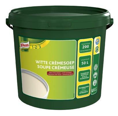 Knorr 1-2-3 Witte Crèmesoep in grootverpakking