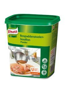Knorr Bospaddenstoelenbouillon Authentiek Poeder 50L