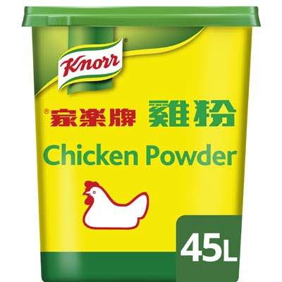 Knorr Chinese Kippenbouillon opbrengst 45L -
