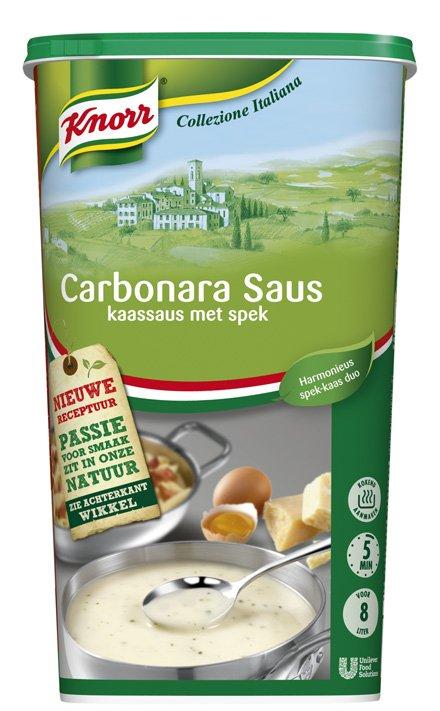 Knorr Collezione Italiana Carbonara saus