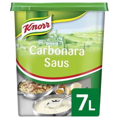 Knorr Collezione Italiana Carbonara Saus Poeder 7L -