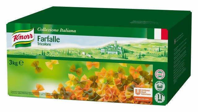 Knorr Collezione Italiana Farfalle Tricolore