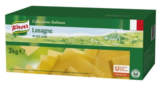 Knorr Collezione Italiana Lasagne voorgekookt 3kg