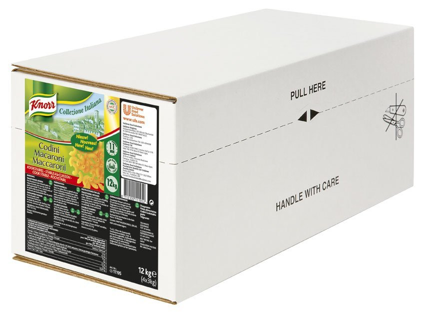 Knorr Collezione Italiana Macaroni Kookstabiel 3kg