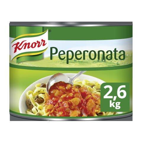 Knorr Collezione Italiana Peperonata Saus 2,6kg -