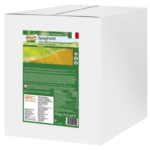 Knorr Collezione Italiana Spaghetti Kookstabiel 3kg -