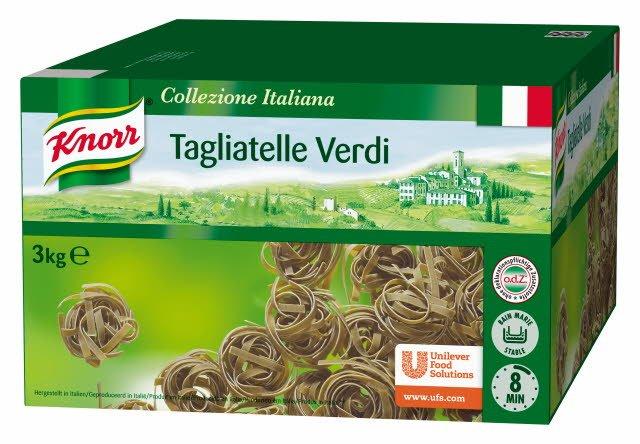 Knorr Collezione Italiana Tagliatelle Verdi 3kg