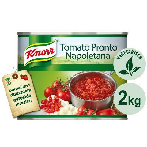 Knorr Collezione Italiana Tomato Pronto Napoletana in blik