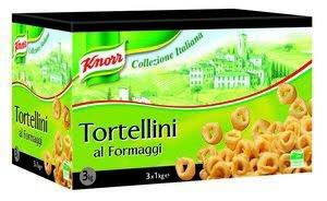 Knorr Collezione Italiana Tortellini Al Formaggio 3x1kg