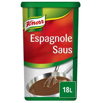 Knorr Espagnole Saus Poeder 18L -