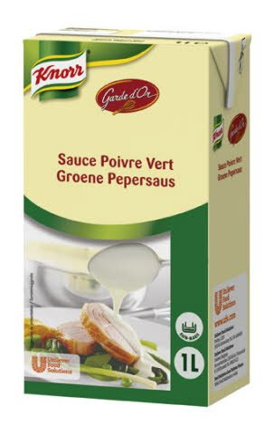 Knorr Garde d'Or Groene Pepersaus