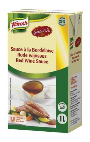 Knorr Garde d'Or Rode Wijnsaus 1L