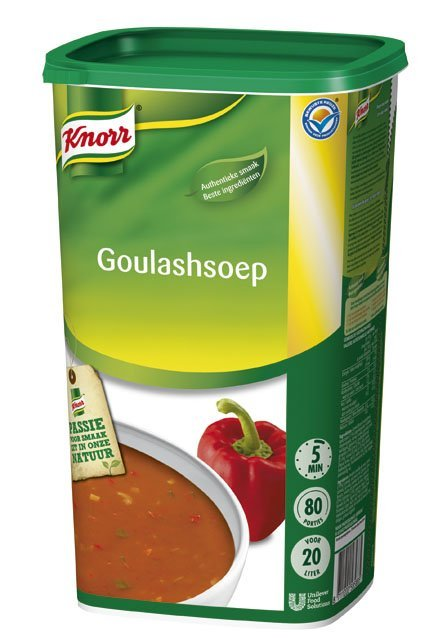 Knorr Goulashsoep Poeder 20L