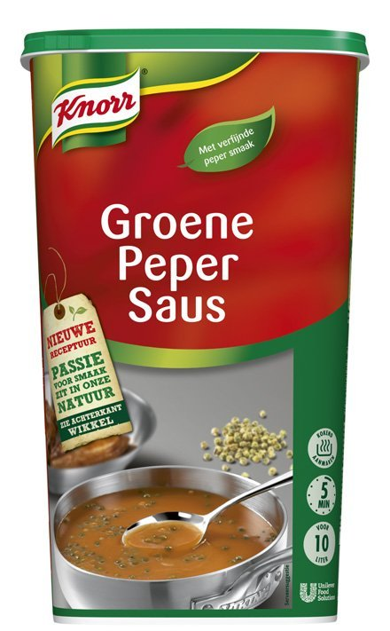 Knorr Groene Peper Saus Poeder 10L
