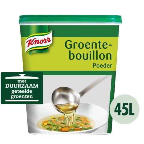 Knorr Groentebouillon Authentiek Poeder 45L