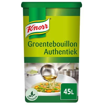 Knorr Groentebouillon Authentiek Poeder 45L