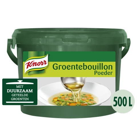 Knorr Groentebouillon Authentiek Poeder 500L