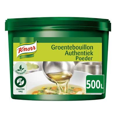 Knorr Groentebouillon Authentiek Poeder opbrengst 500L