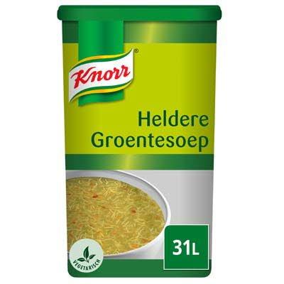 Knorr Heldere Groentesoep Poeder 31L