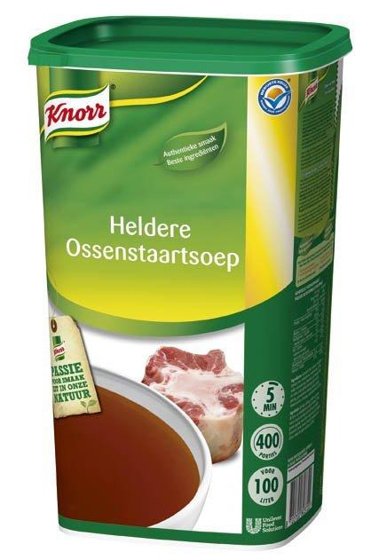 Knorr Heldere Ossenstaartsoep Poeder 100L