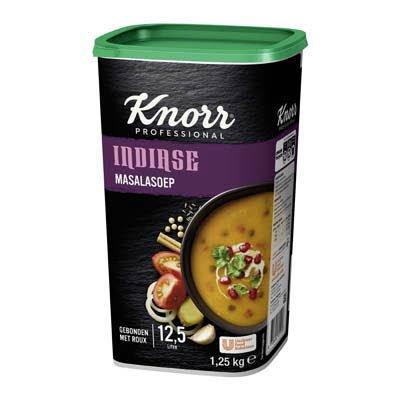 Knorr Indiase Masalasoep Poeder opbrengst 12,5L -