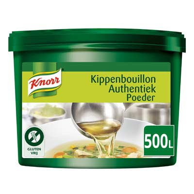Knorr Kippenbouillon Authentiek Poeder 500L