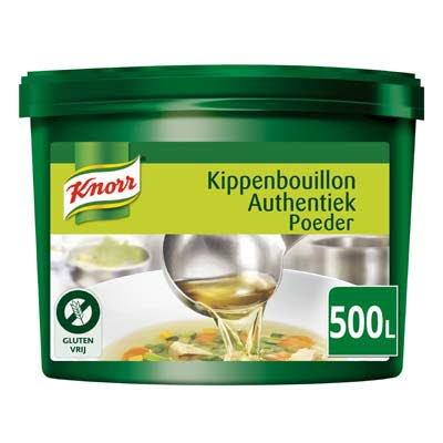 Knorr Kippenbouillon Authentiek Poeder opbrengst 500L -