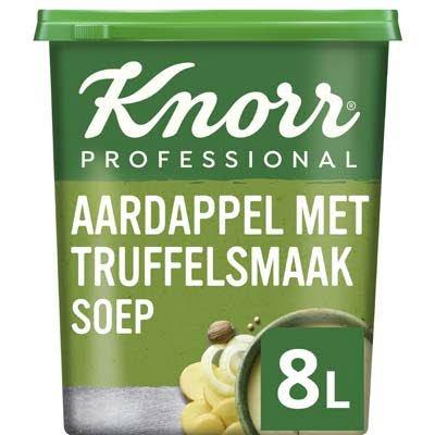 Knorr Klassiek Aardappelsoep met Truffelsmaak Poeder opbrengst 8L -