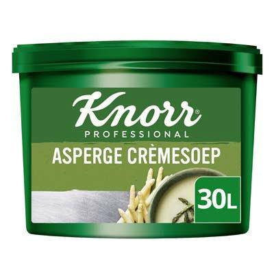 Knorr Klassiek Asperge Crèmesoep opbrengst 30L -