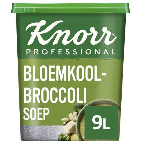 Knorr Klassiek Bloemkool-Broccolisoep Poeder opbrengst 9L -