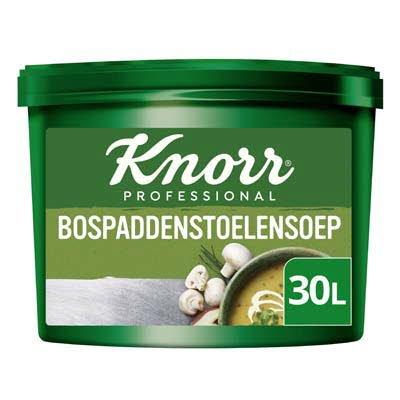Knorr Klassiek Bospaddenstoelensoep opbrengst 30L -