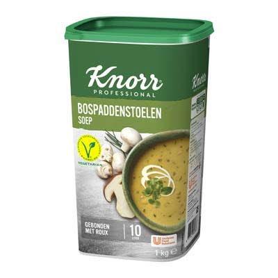 Knorr Klassiek Bospaddenstoelensoep Poeder opbrengst 10L