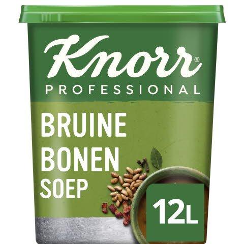 Knorr Klassiek Bruine Bonensoep Poeder opbrengst 12L -