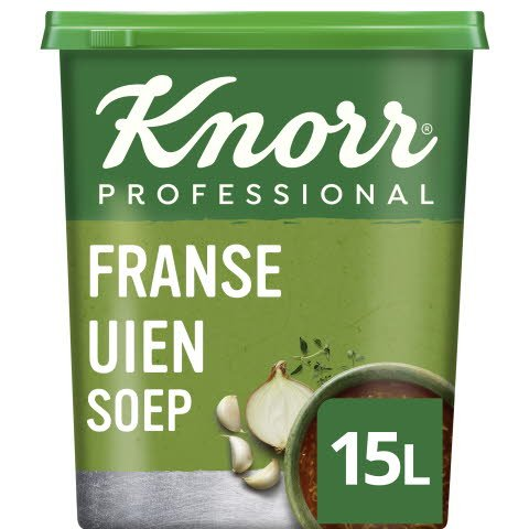 Knorr Klassiek Franse Uiensoep Poeder opbrengst 15L -