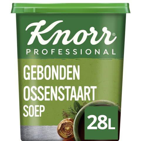 Knorr Klassiek Gebonden Ossenstaartsoep Poeder opbrengst 28L -