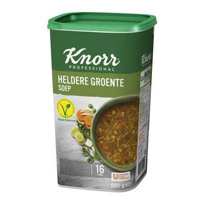 Knorr Klassiek Heldere Groentesoep Poeder opbrengst 16L -