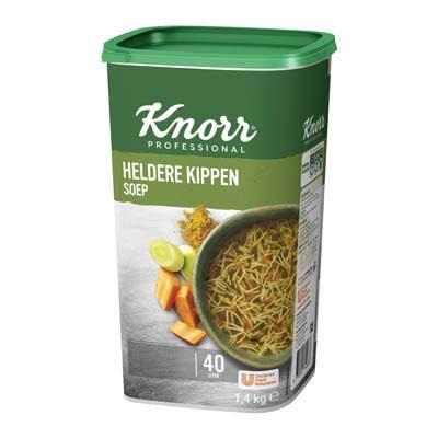 Knorr Klassiek Heldere Kippensoep opbrengst 40L -