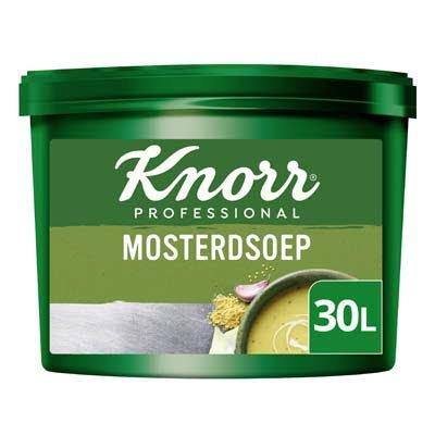 Knorr Klassiek Mosterdsoep opbrengst 30L -