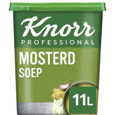 Knorr Klassiek Mosterdsoep Poeder opbrengst 11L -