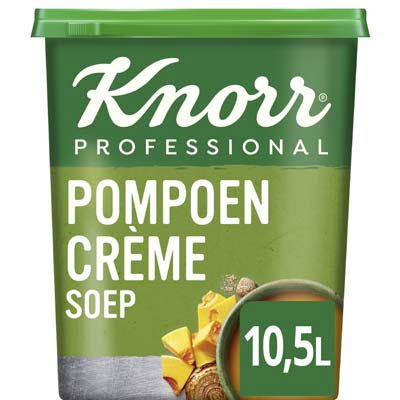 Knorr Klassiek Pompoen Crèmesoep opbrengst 10,5L -