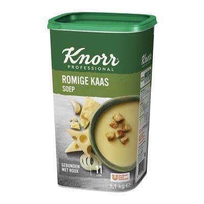 Knorr Klassiek Romige Kaassoep Poeder opbrengst 11L -